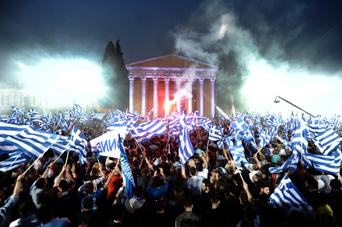 E U  Showdown As Greece Takes on the Vampire Squid   Occupy com