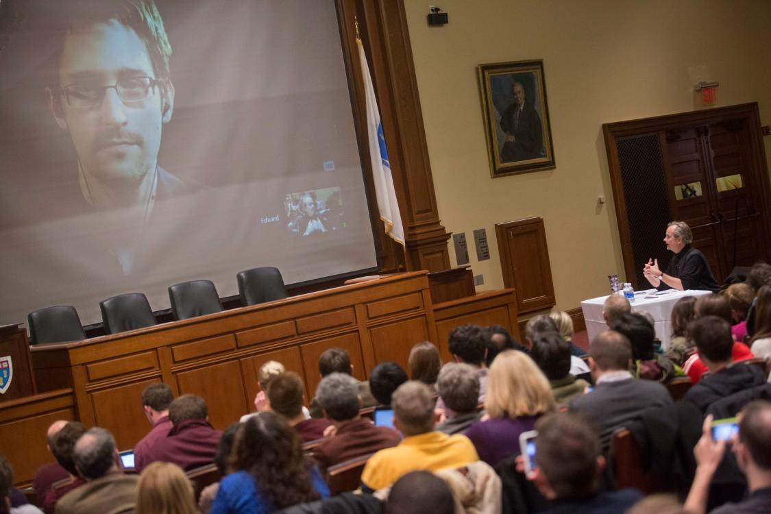 Lawrence Lessig, Edward Snowden, NSA