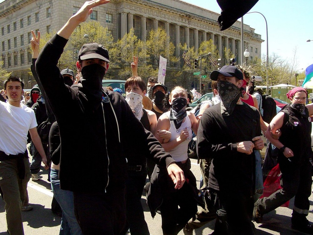 Unmasking The Black Bloc: Who They Are, What They Do, How