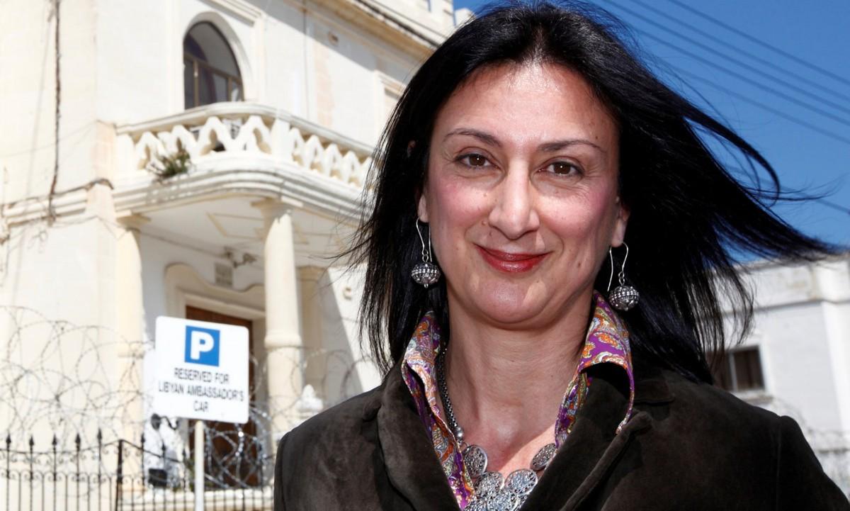 Daphne Caruana Galizia, Panama Papers, investigating corruption, journalists killed, Malta corruption