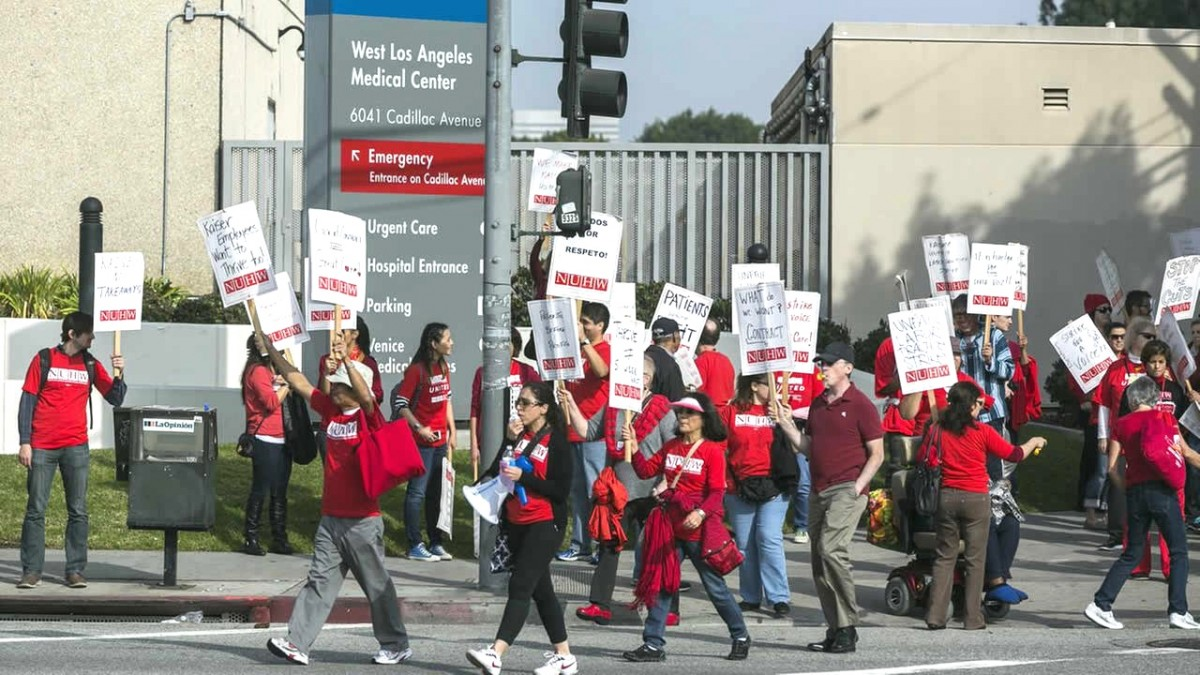 Why  Kaiser Mental Health Workers Went On Strike In - Kaiser west los angeles map