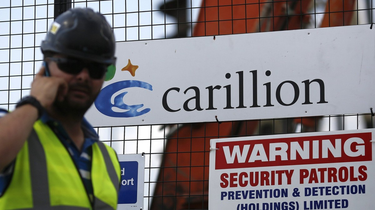 In Carillion Scandal and Its Cover-Up, Britons Again Accuse Their