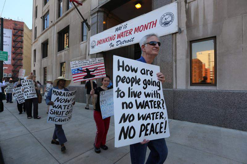 Apartheid In Detroit Water For Corporations Not For People Occupy Com