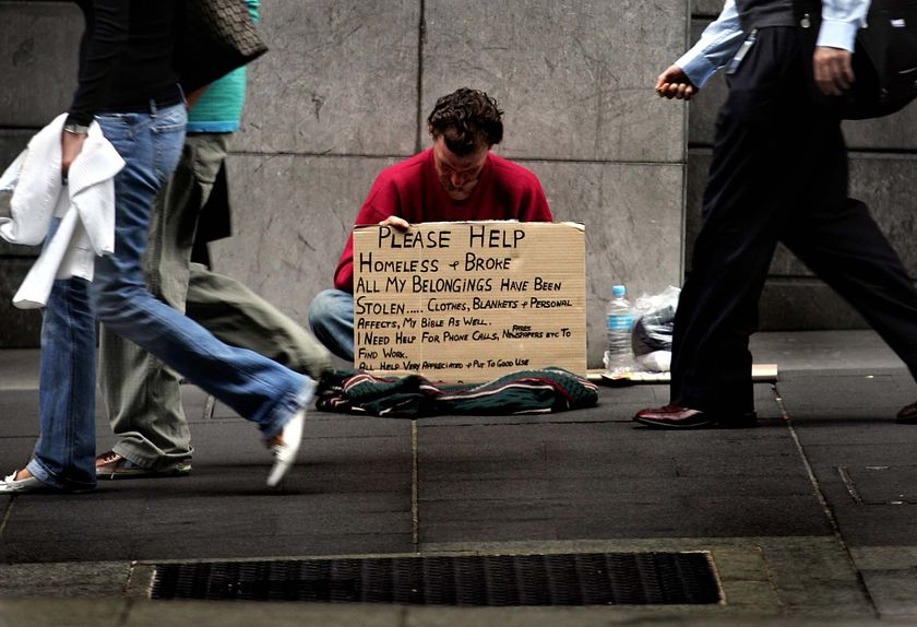 an analysis of the homeless and the poor in the society Vagrancy and the homeless essay in his historical analysis of vagrancy and the homeless to keep the poor, the homeless.