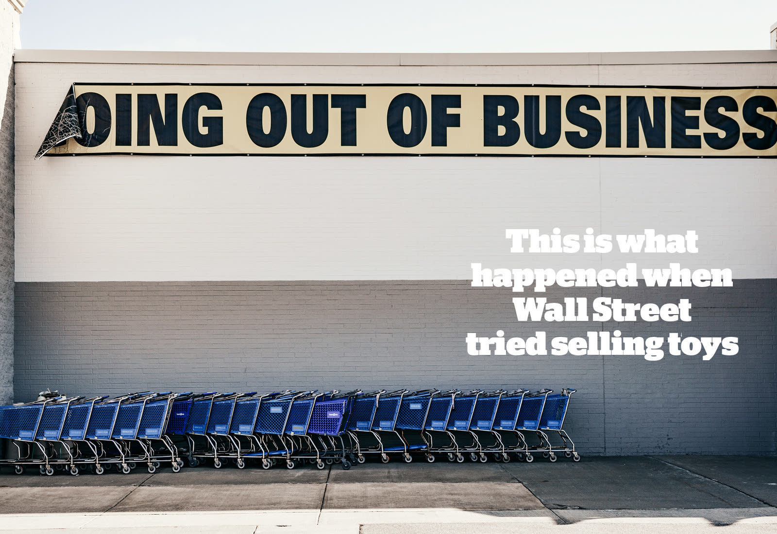 How Wall Street Bought Toys \'R\' Us And Left 30,000 People Without ...