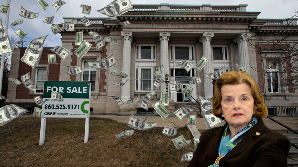 exposed are senator feinstein and her cronies looting the u s post office occupy com occupy com