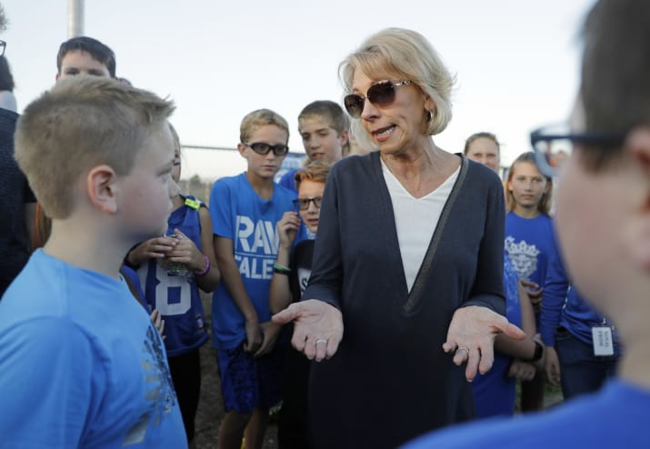 Betsy DeVos Is Being Sued By 17 States Over For-Profit