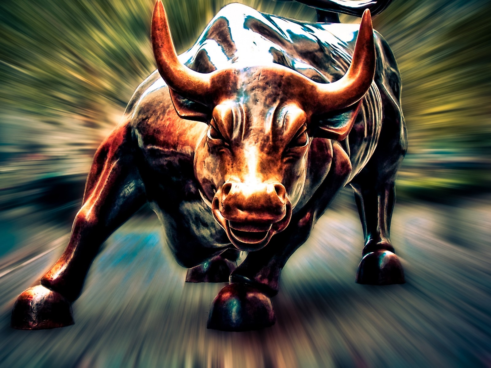 Pix For > Wall Street Bull Iphone Wallpaper