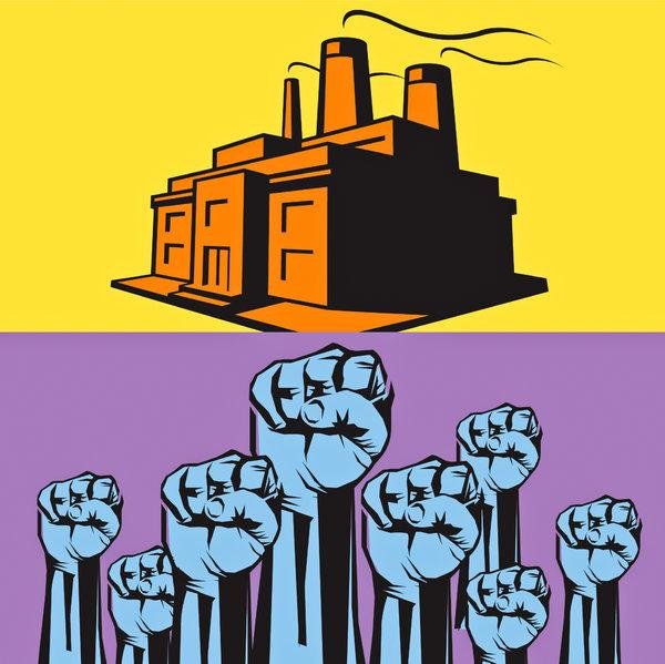 wealth inequality, income inequality, National Labor Relations Act, labor unions, labor power