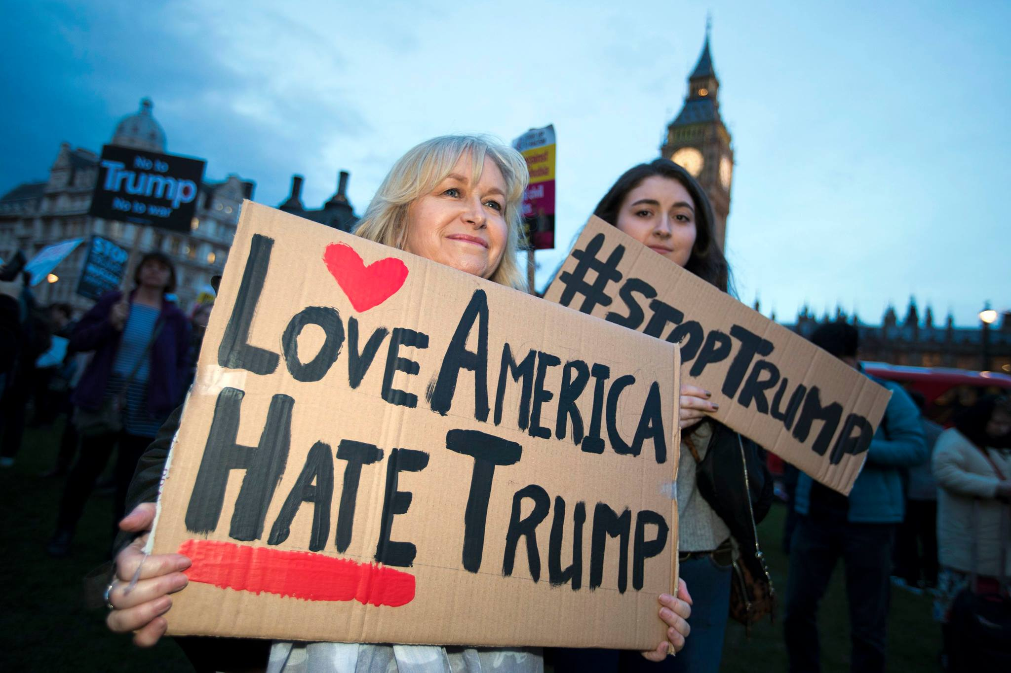 U.K. anti-Trump protests, Trump U.K. visit, Donald Trump, Theresa May, Stop Trump Movement, Stop Trump Coalition