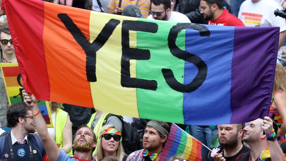 Australian Voters Say Yes to Marriage Equality