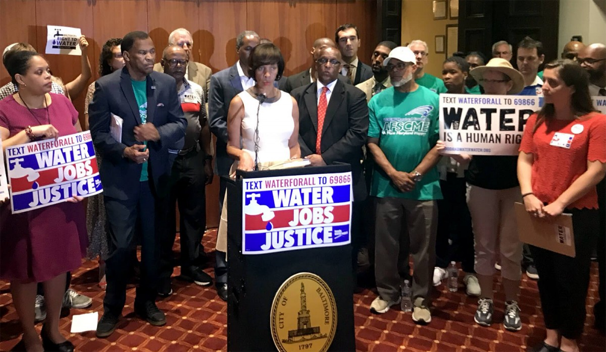 Baltimore, water privatization, ban on privatizations, Baltimore privatization ban
