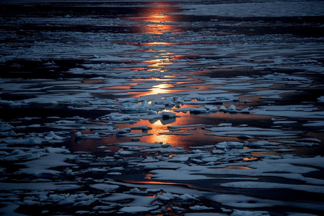 warming Arctic, melting Arctic, rising ocean temperatures, weather extremes
