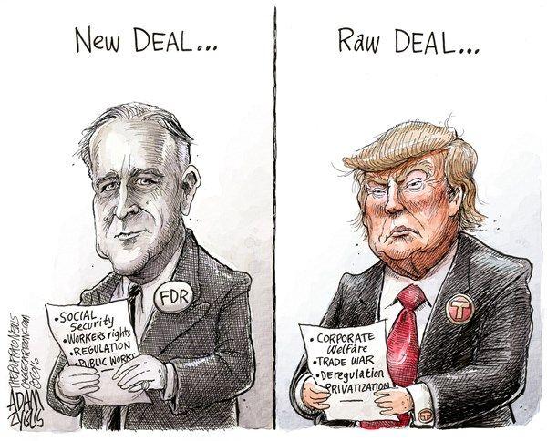 FDR, Trump