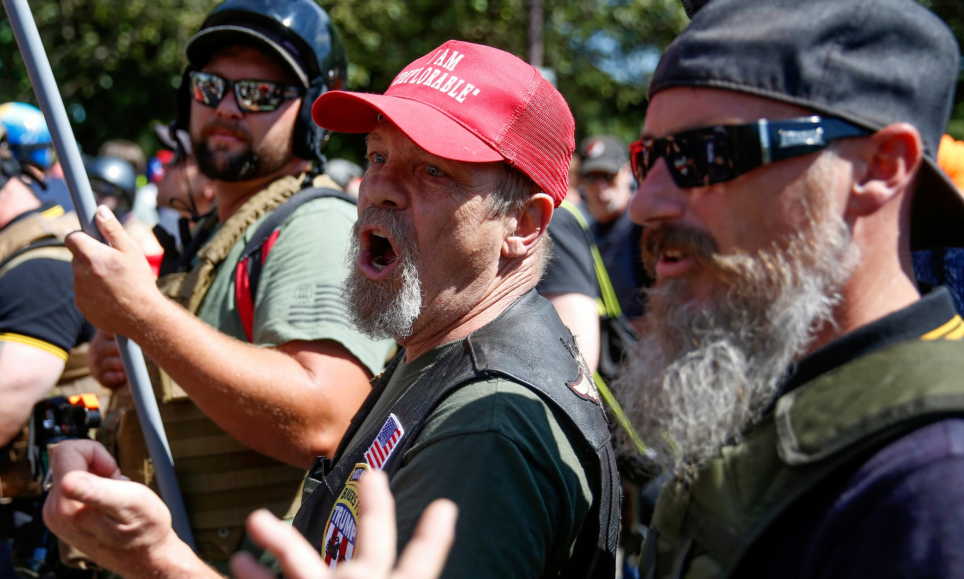 Proud Boys, Patriot Prayer, rightwing marches, neo-Nazi protests, anti-Fascists, Portland fascist rally, Democratic Socialists of America