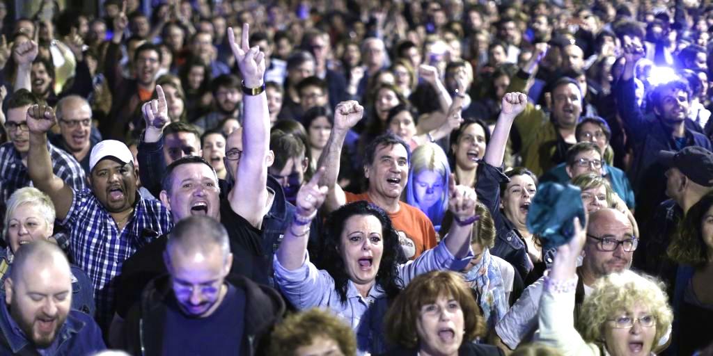 Ahora Madrid, Barcelona en Comú, Zaragoza en Común, La Marea Atlántica, confluences, confluencias, M15, Indignados, Podemos, Equo, Pablo Iglesias