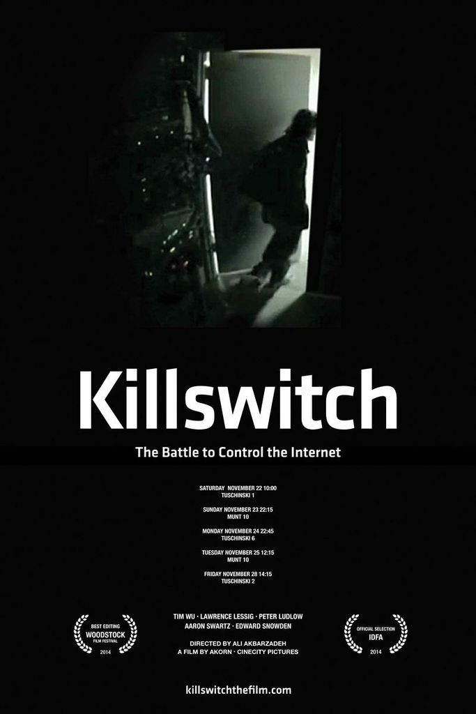 Killswitch, Lawrence Lessig, Tim Wu, Peter Ludlow, hacktivists, Aaron Swartz, Edward Snowden