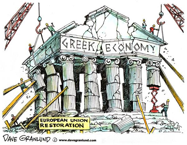Under weight of massive welfare state, Greece about to default on IMF loans
