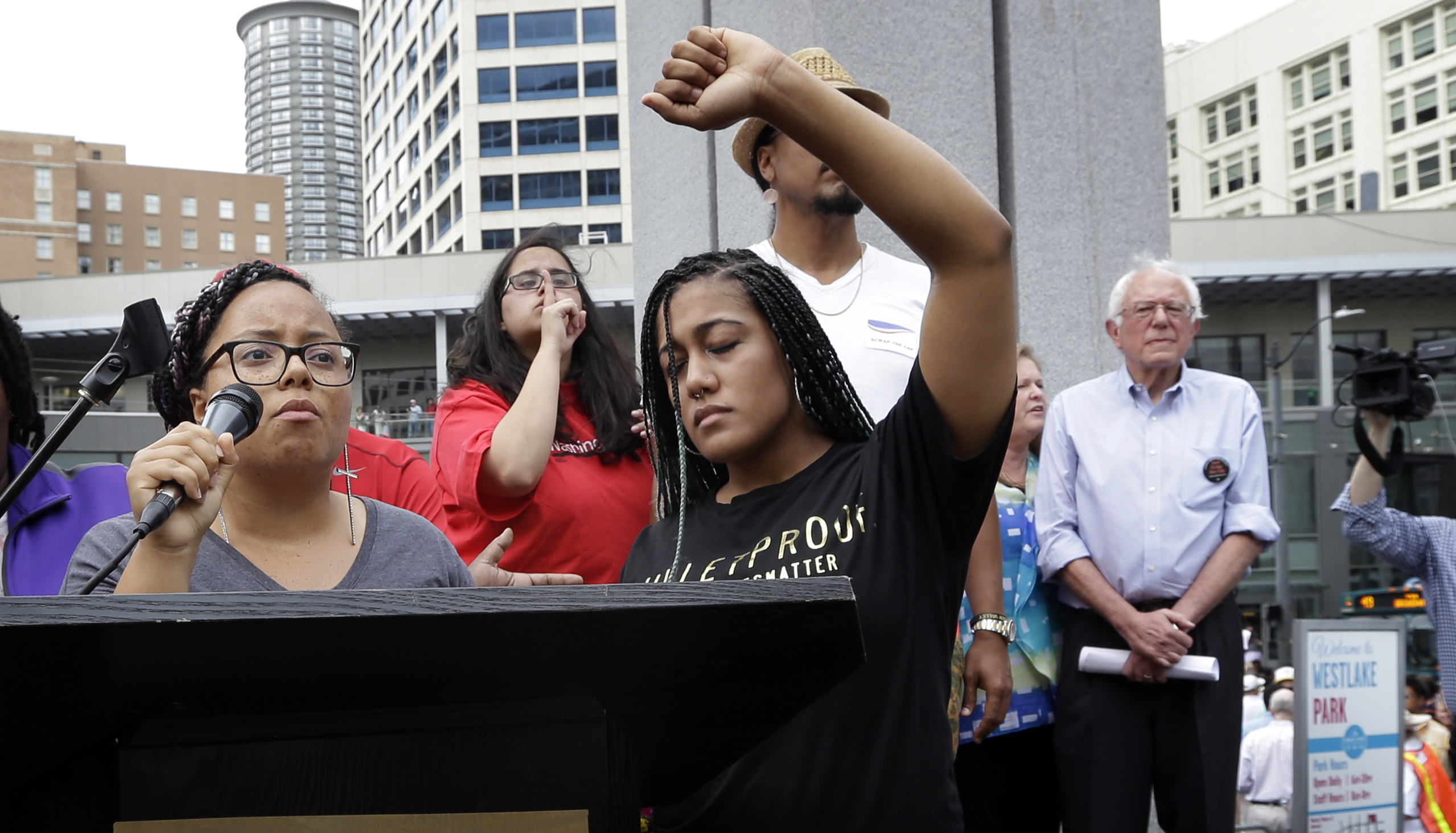 Black Lives Matter, Bernie Sanders, white progressives, white liberals, institutional racism