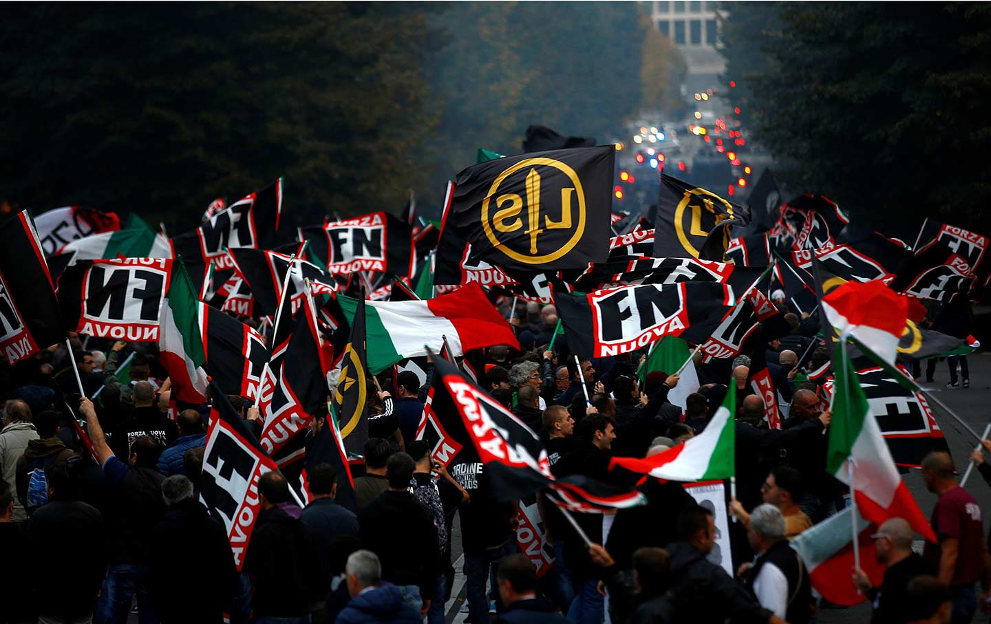 Anti-Fascist, Italy far-right parties, xenophobia, populist right, Italian populists, migrant crisis, anti-immigrant sentiment