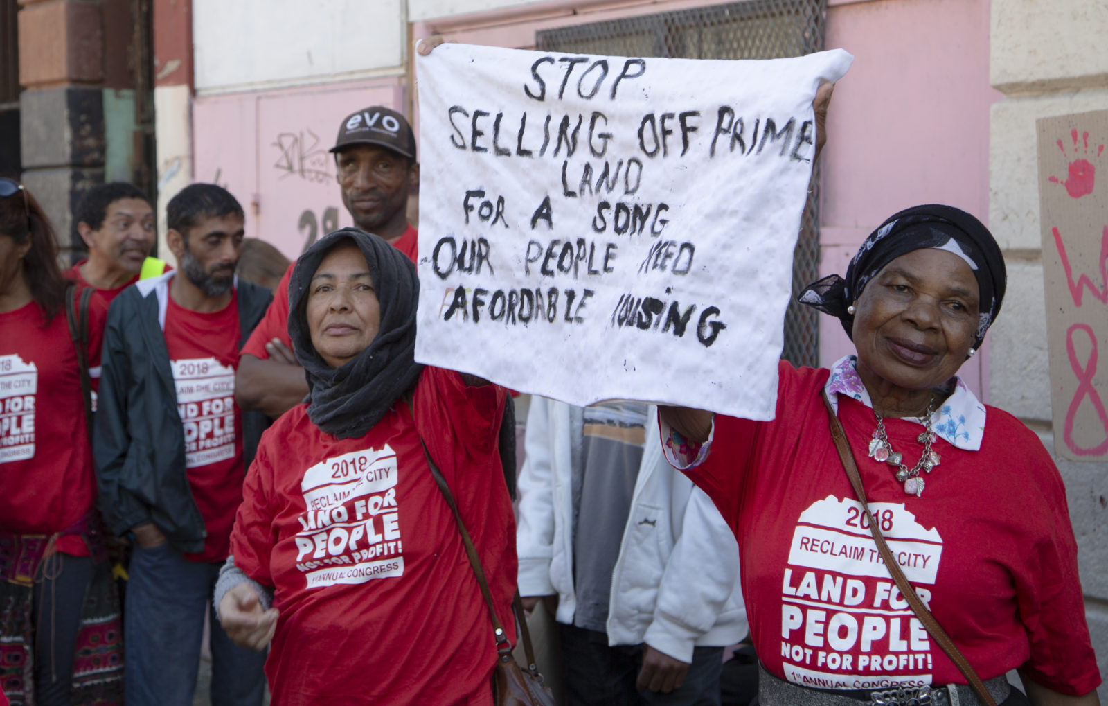 Cape Town housing movement, Reclaim the City, affordable housing, inner city housing, public housing, rising inequality, apartheid