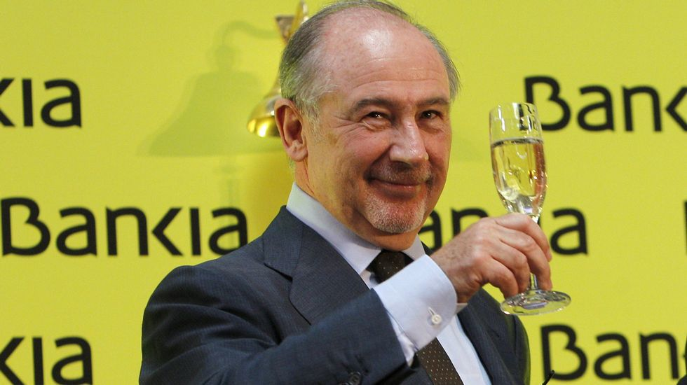 Spanish financial crisis, Rodrigo Rato, Bankia scandal, 15MpaRato, jailed bankers