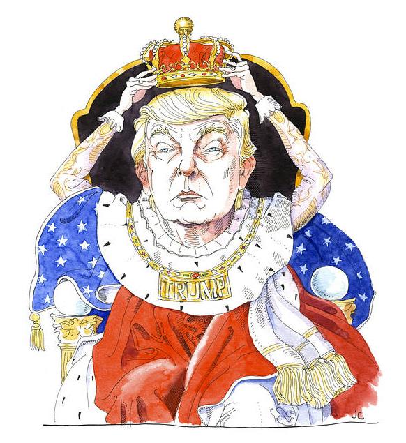 Donald Trump, authoritarianism, tyranny, checks and balances, one-man rule, Vladimir Putin, autocracy, trade war, Supreme Court picks,