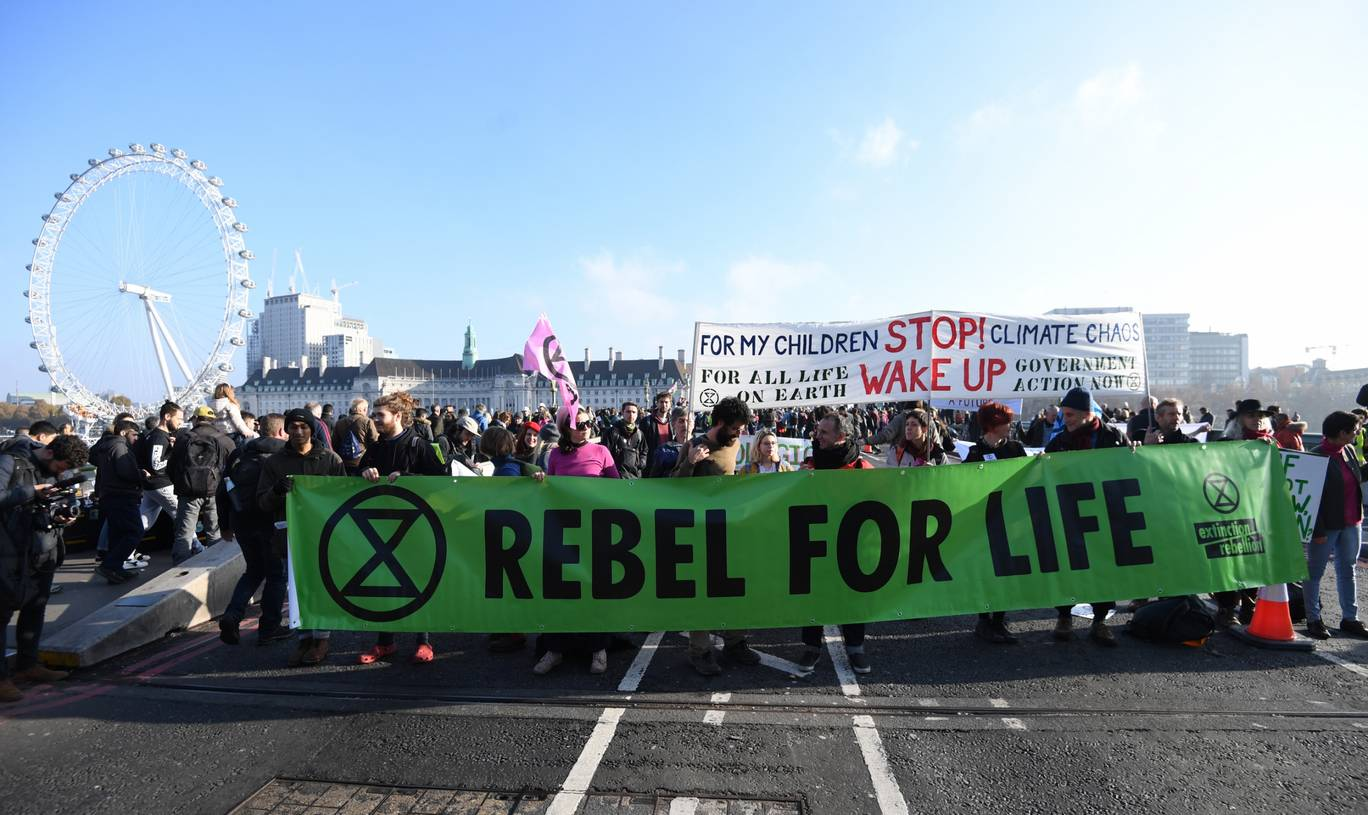 Extinction Rebellion: Thousands of Climate Protesters ...