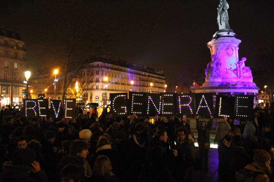 France protests, France protest movement, French Labor Law, #NuitDebout, night on our feet
