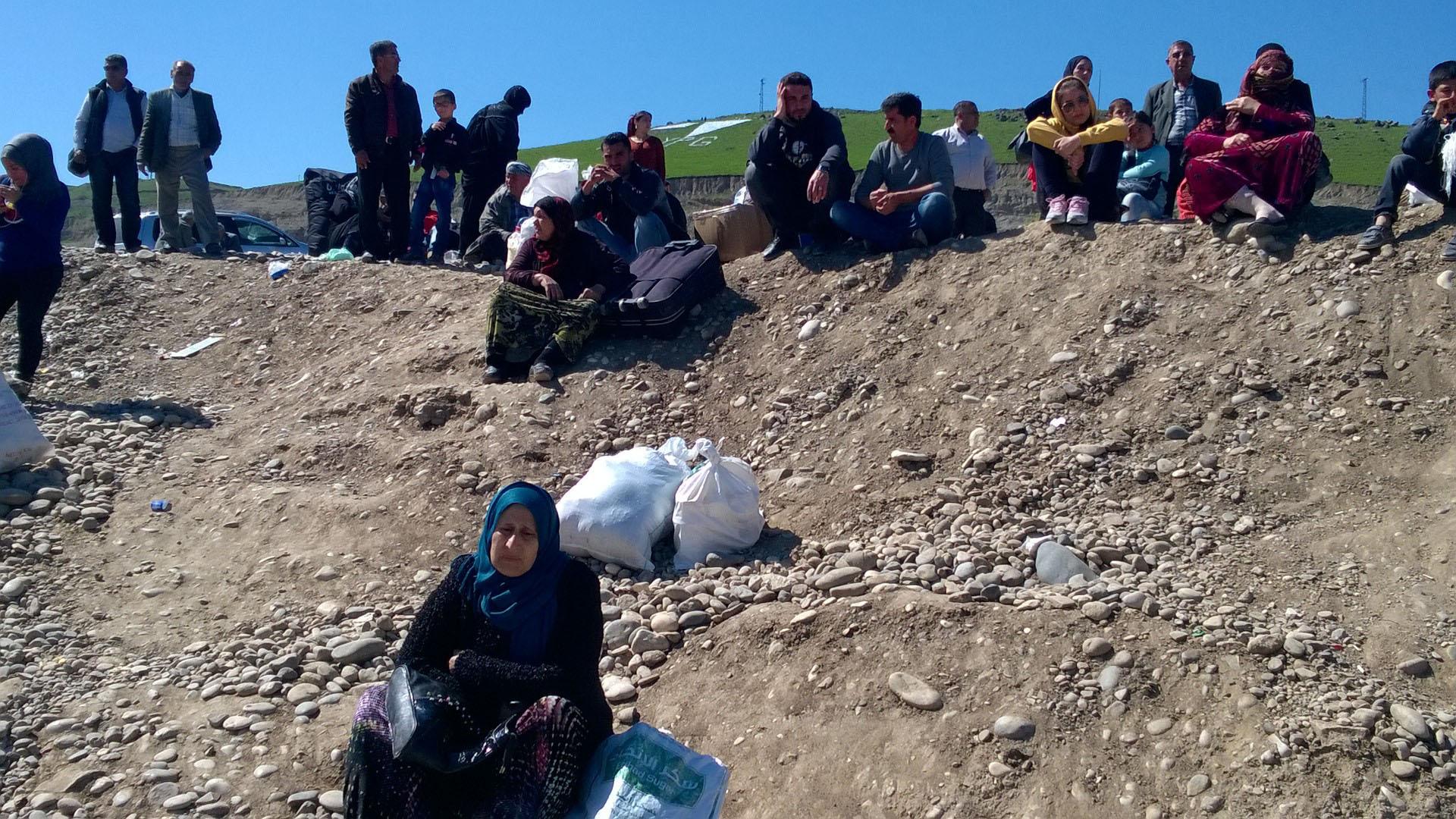 Kurds, Rojava region, Syrian civil war, Bashar al-Assad, ISIS, Syrian Kurds, Kurdish diaspora, refugee crisis
