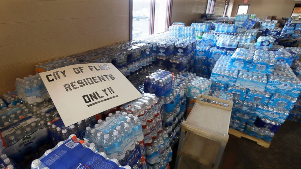 Flint water crisis, crumbling infrastructure, Donald Trump, water technology, New Deal