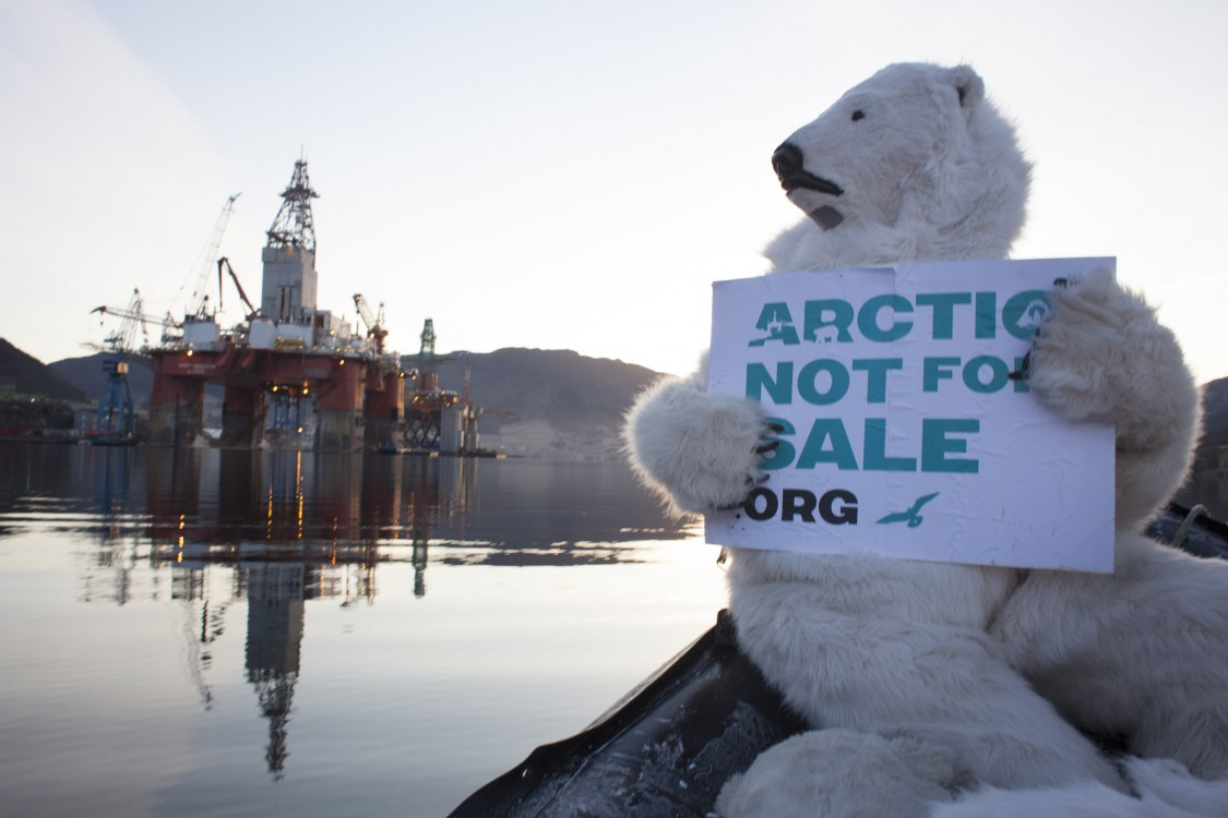 Arctic oil drilling, Arctic oil protests, Sami people, oil spills, Deepwater Horizon, Arctic conditions