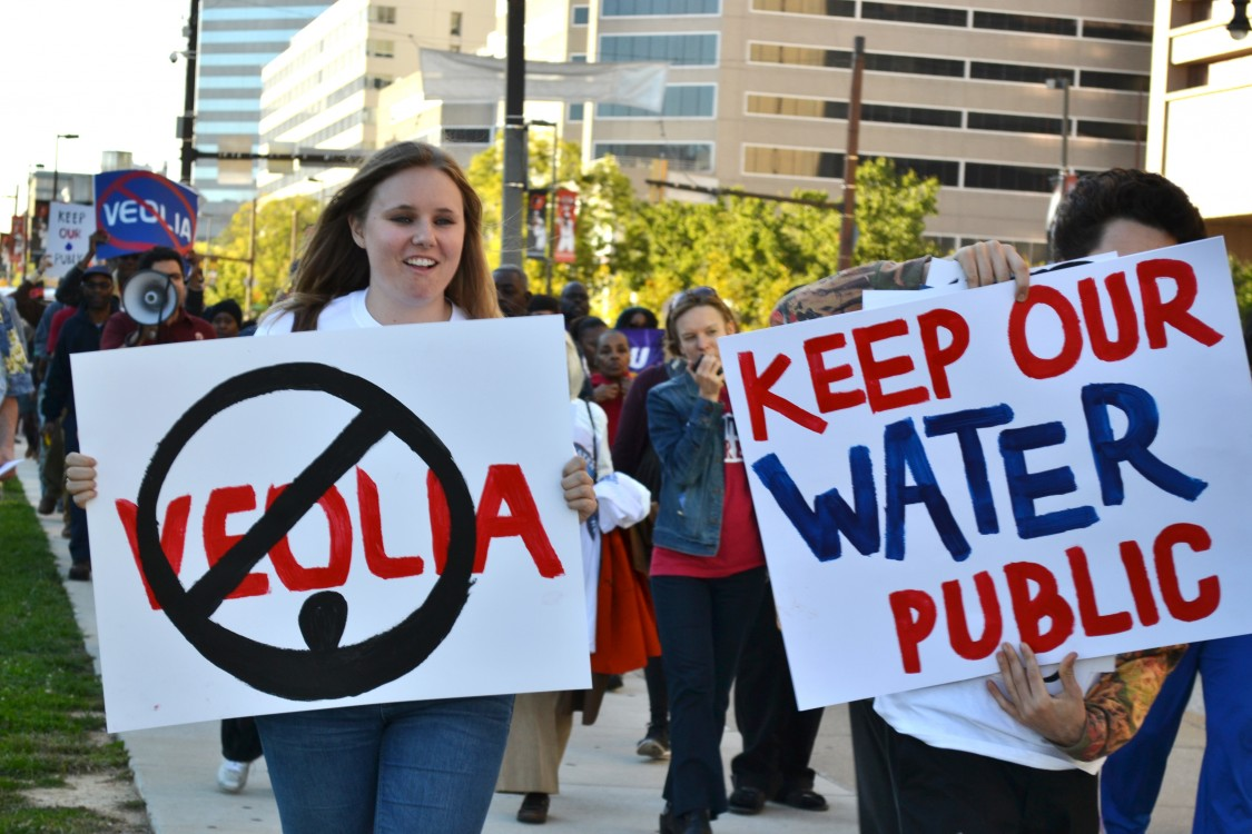 Baltimore water privatization, water privatization ban, human right to water