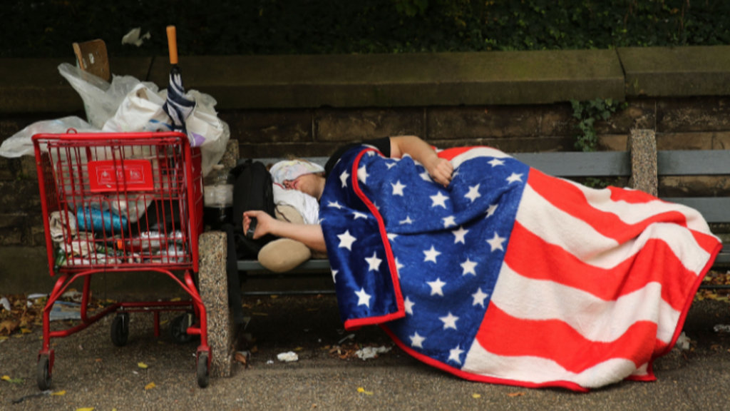 rising U.S. poverty, rising rents, wealth inequality, income inequality, childhood poverty