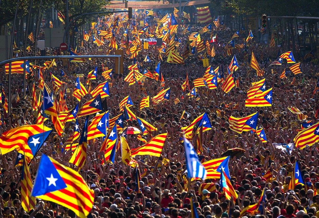 Catalan independence referendum, Spanish Constitution, Francisco Franco, Spanish fascists, Podemos party, rebel cities