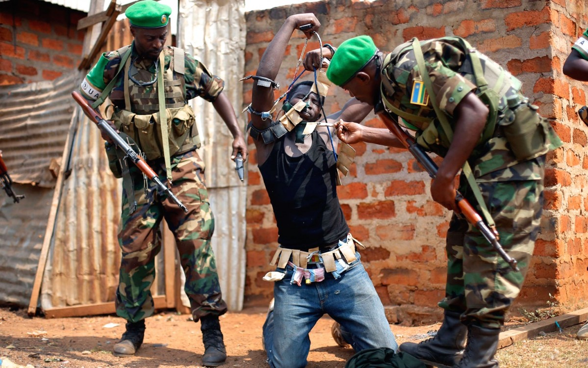 Central African Republic violence, CAR conflict, sectarian violence, colonial influence
