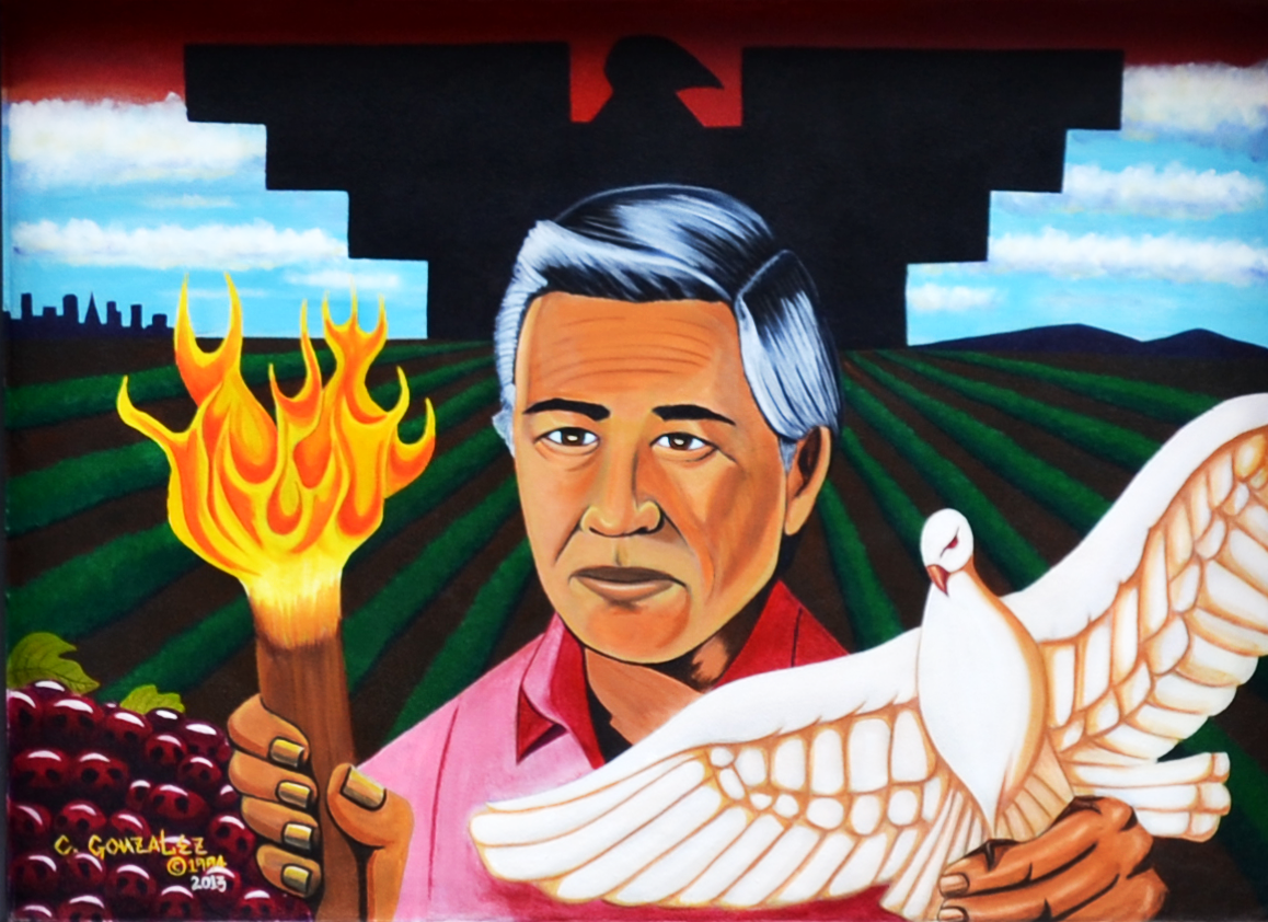 cesar chavez comes to life in film about california s heroic labor cesar chavez mural png