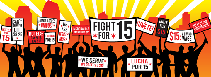 #BlackLivesMatter, Black Lives Matter, Fight for $15, minimum wage movement, National Domestic Workers Alliance