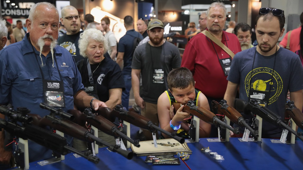 NRA, National Rifle Association, NRA lobbying, assault weapons ban, NRA influence