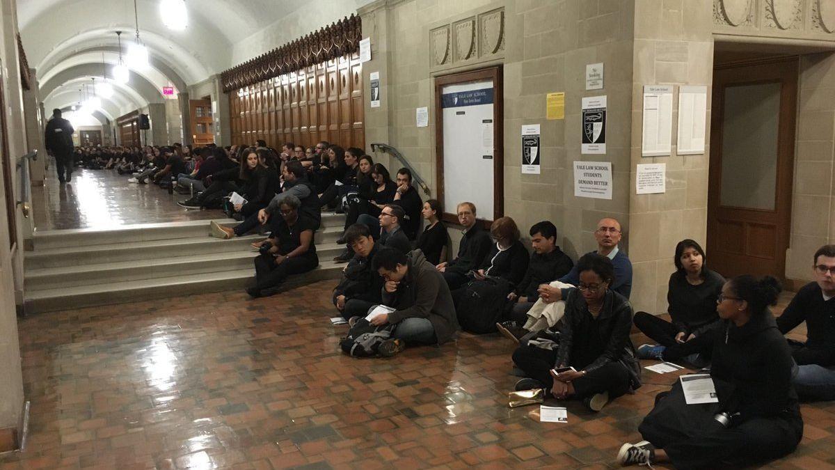 Yale Law School protests, Kavanaugh protests, Brett Kavanaugh, Supreme Court, Kavanaugh sexual assault allegations