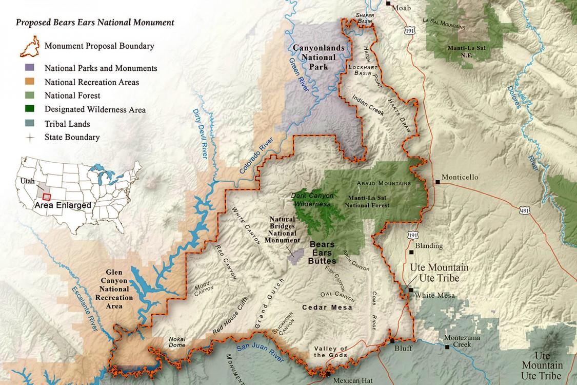 Utah, Trump, Obama, Bears Ears National Monument, national monuments, Interior Department, Ryan Zinke, Antiquities Act, Governor Gary Herbert
