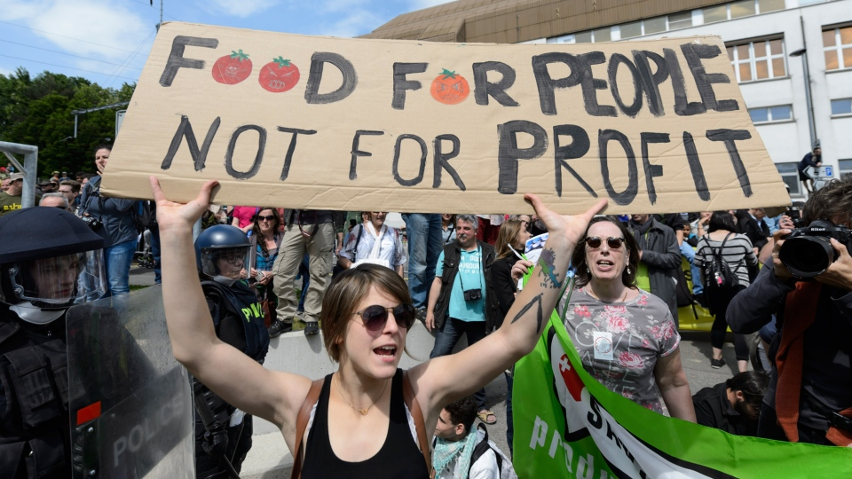 March Against Monsanto, Monsanto, GMOs, genetically modified organisms, genetic seeds