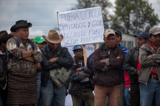 Guatemala protests, anti-corruption protests, Ancestral Authorities