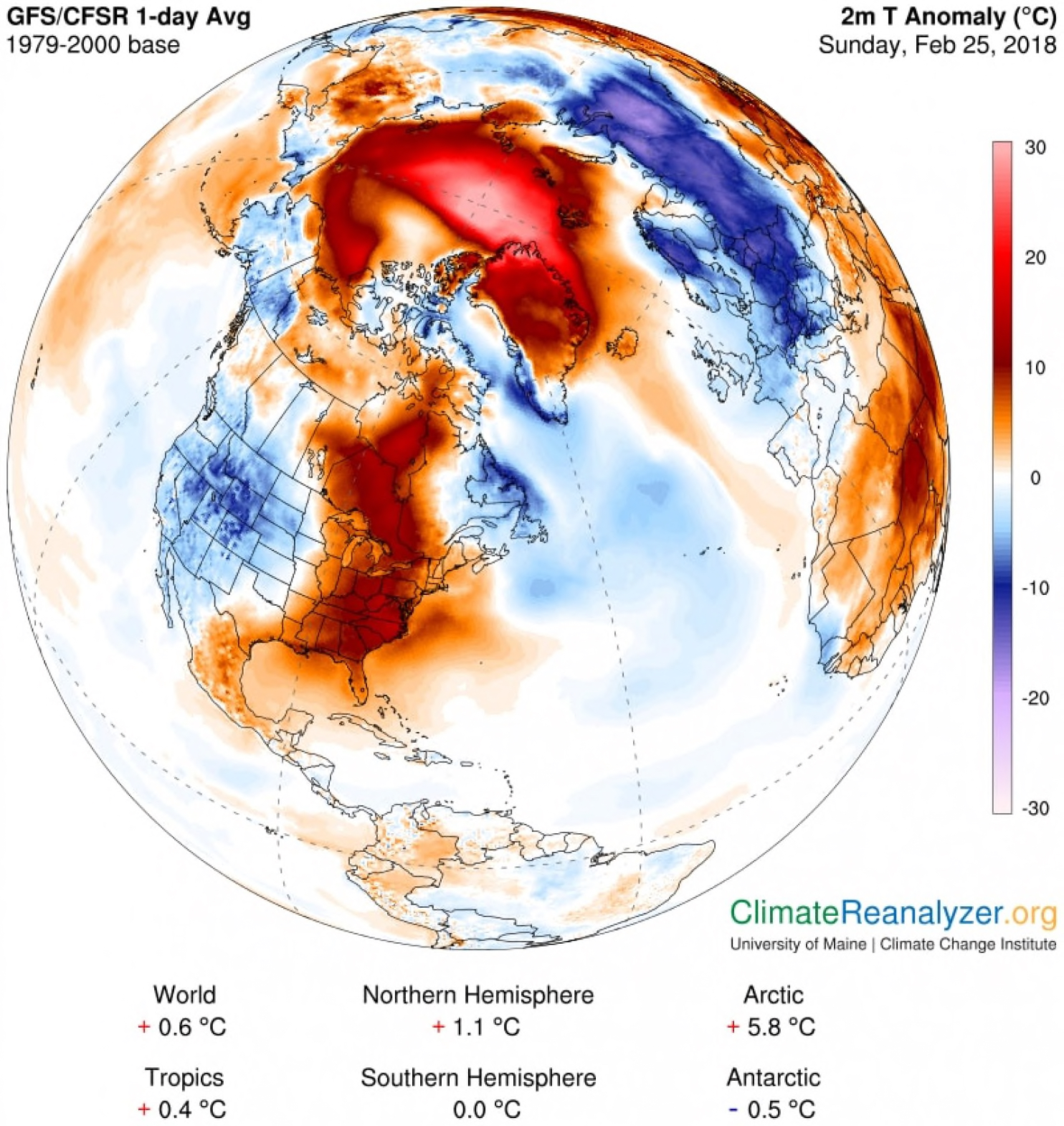 warming Arctic, melting Arctic, rising ocean temperatures, weather extremes