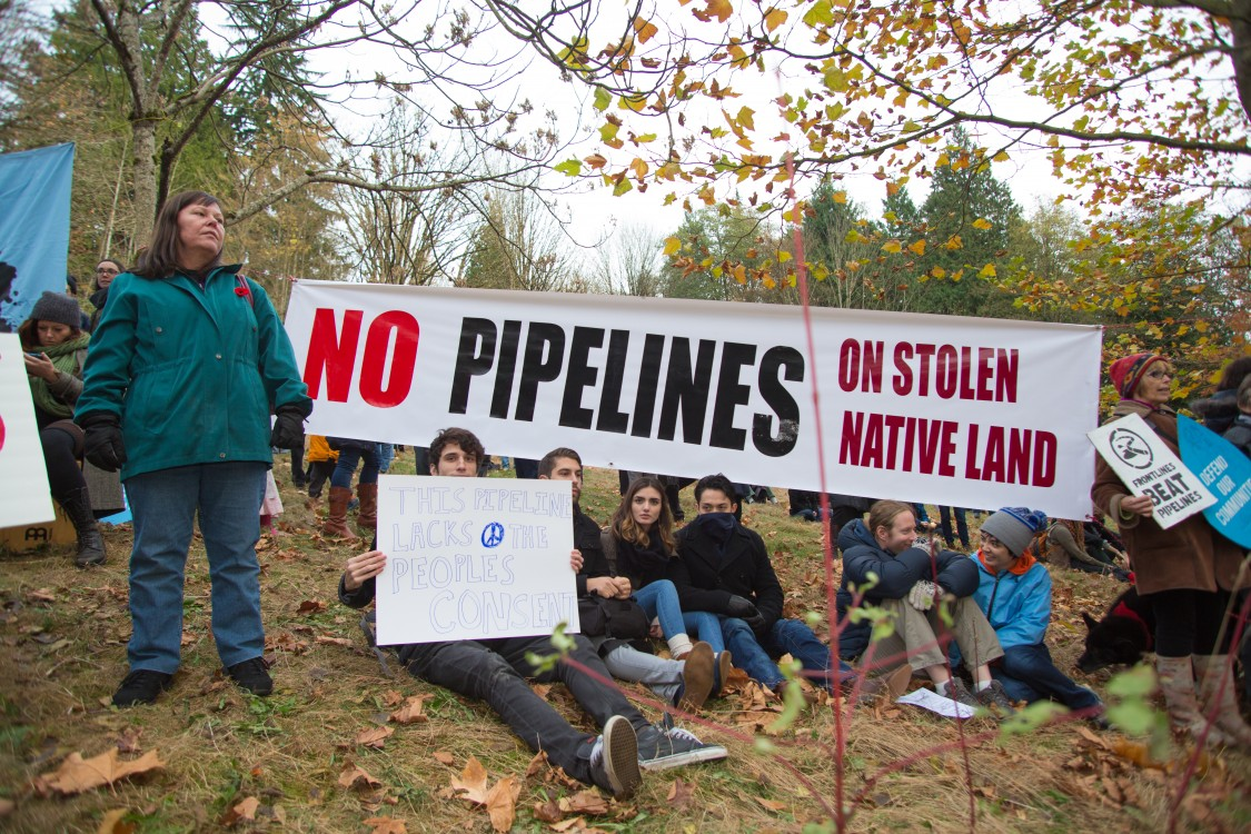 oil pipelines, gas pipelines, Trans Mountain pipeline, Kinder Morgan, carbon emissions, pipeline resistance movement, anti-pipeline protests, Canadian climate movement