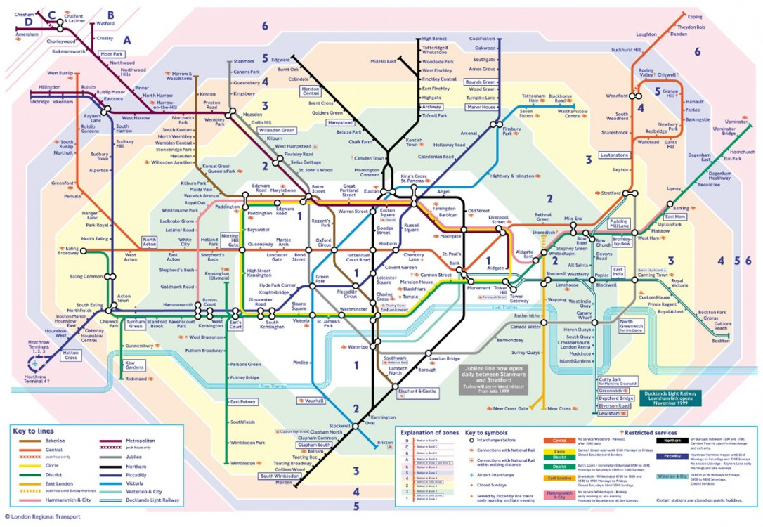 Map London Neighborhoods.London Underground Map Jpg Occupy Com