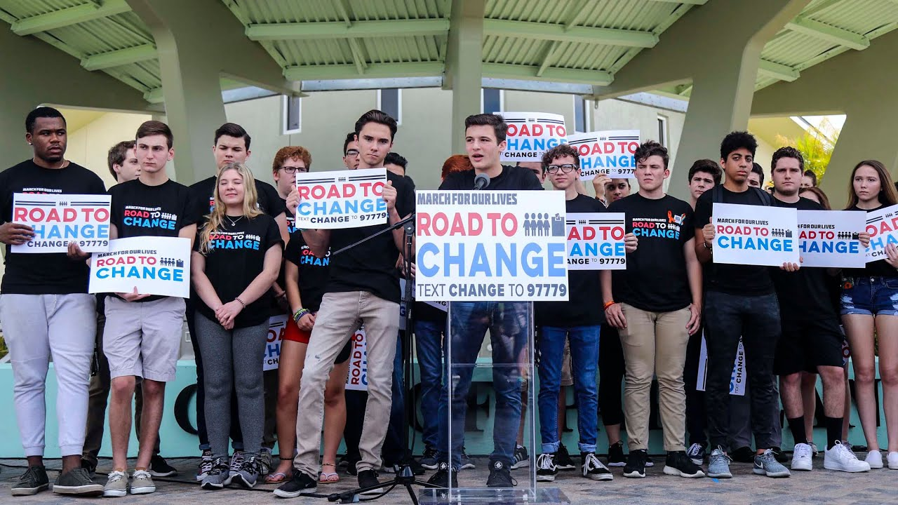 gun reform, Parkland massacre, student activists, gun reform activists, Road for Change, Freedom Summer, student organizers, high school shootings