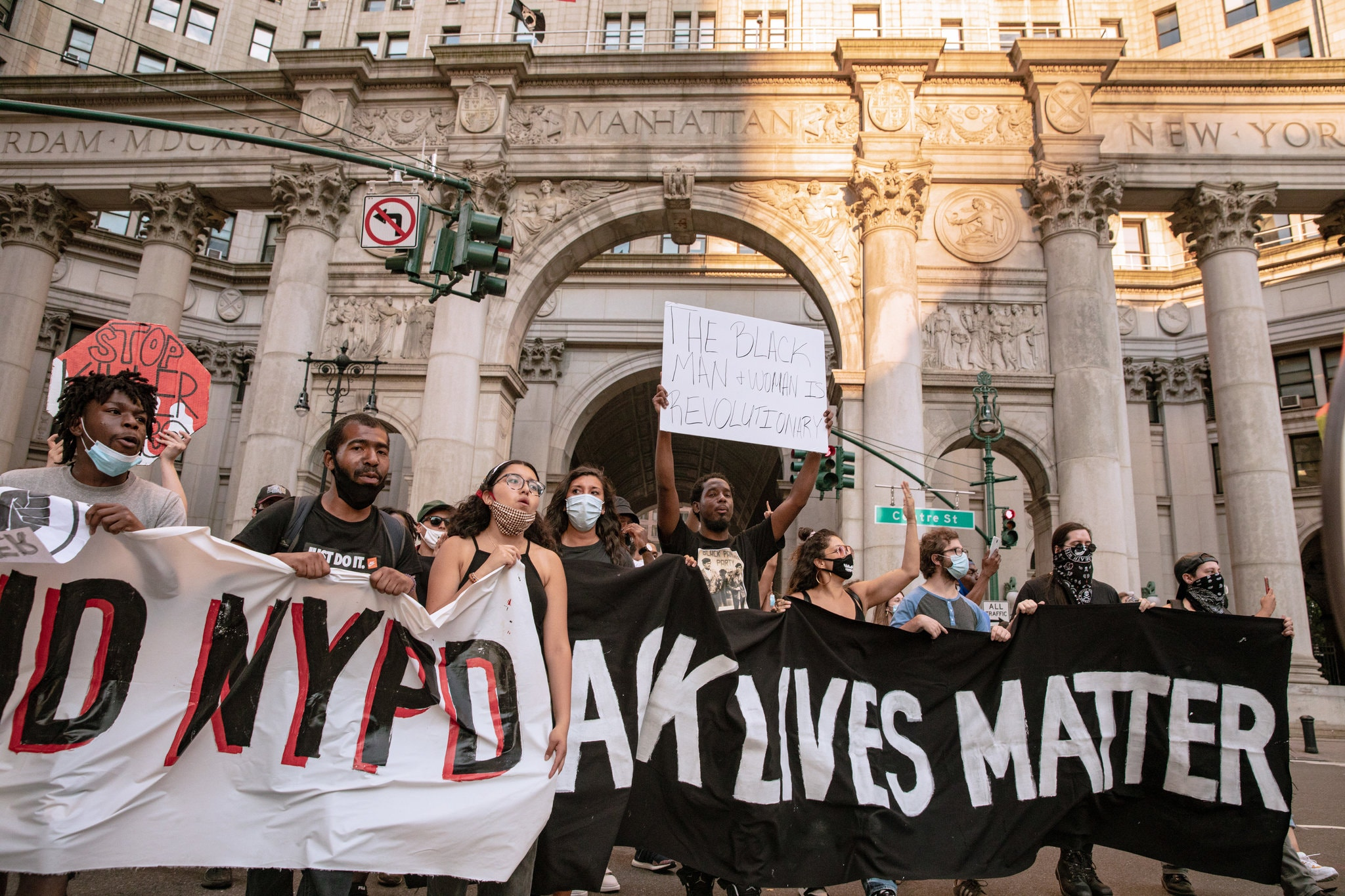 Occupy City Hall, Occupy Wall Street, Black Lives Matter, defund the police, George Floyd, NYPD, police abuse, police brutality, racial justice