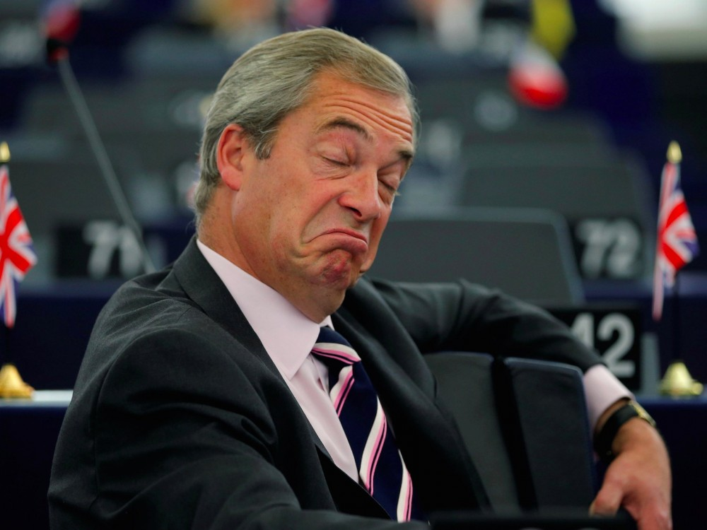 Donald Trump, Brexit, populist campaigns, Nigel Farrage, EU referendum
