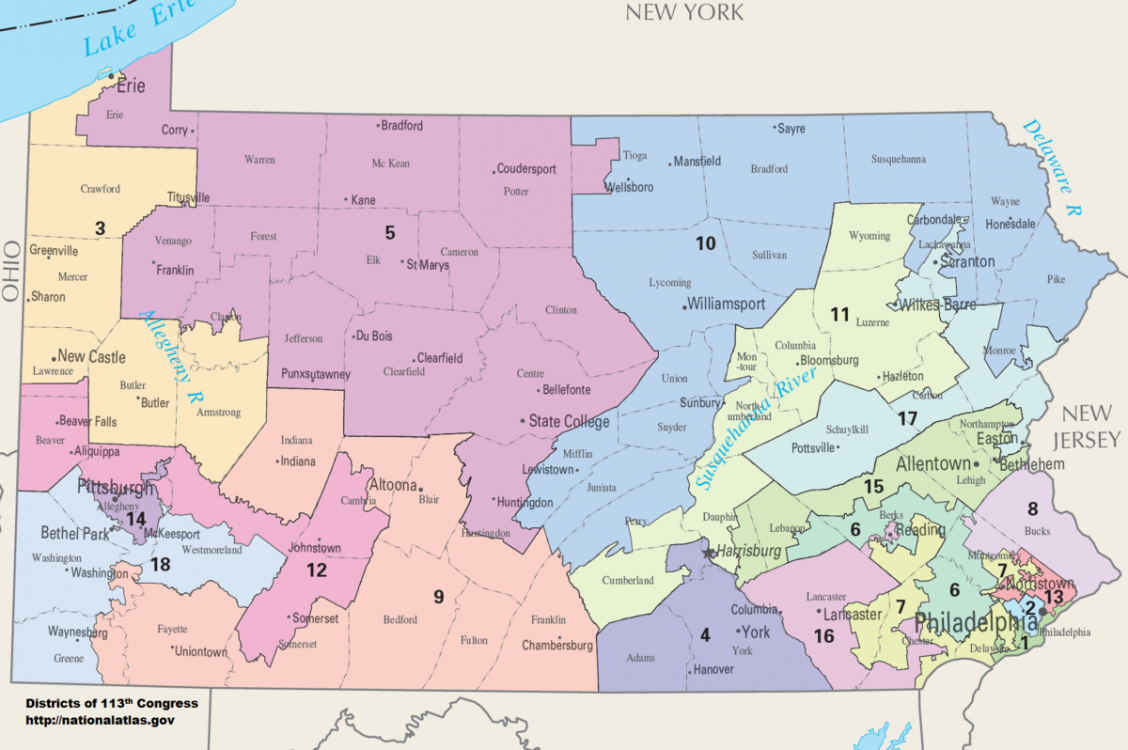 gerrymandering, Pennsylvania Supreme Court, League of Women Voters, congressional maps